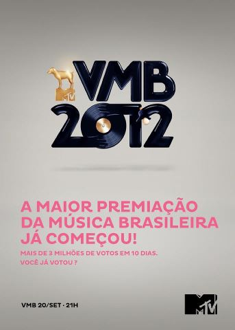 Já votou no #VMB2012?