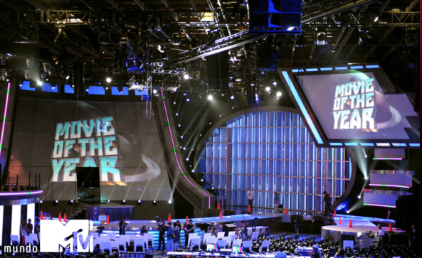 movie awards stage