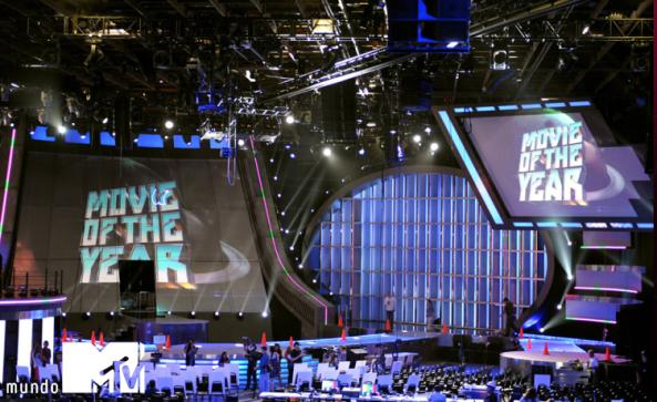 movie awards stage